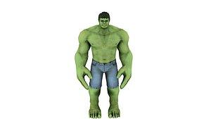 3D Hulk Avengres model