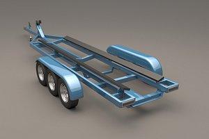 boat trailer model