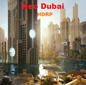 Neo Dubai HDRP 3D