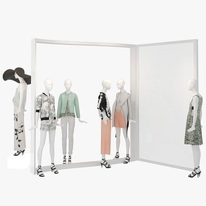 Showroom Fashion Store 011 3D
