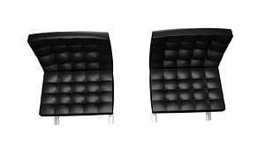 3D model BarcelonaChair