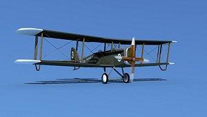 Airco DH-4 Browns Air Service 3D model