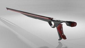 3D gun speargun spear
