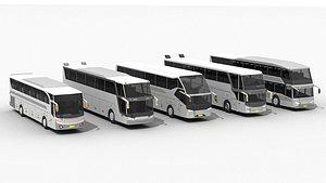 3D coach bus