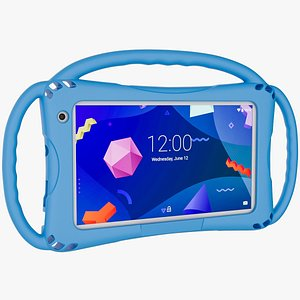 3D model kids tablet handles
