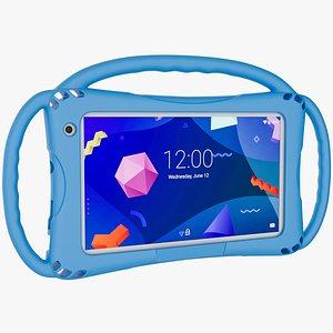 3D model kids tablet handles