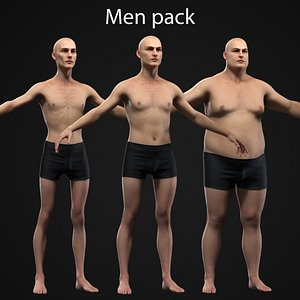 3D Men Pack Collection