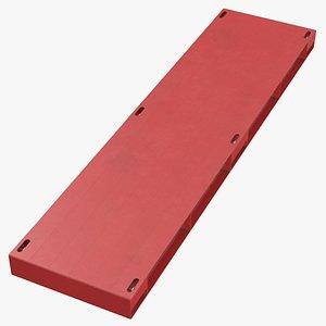 steel crane mats 01 3D model