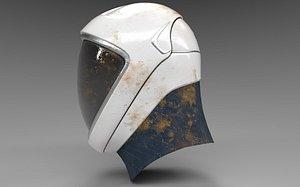 helmet space suit 3D