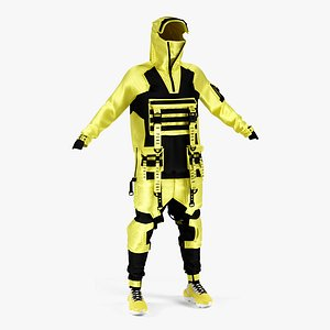 outfit male 3D model