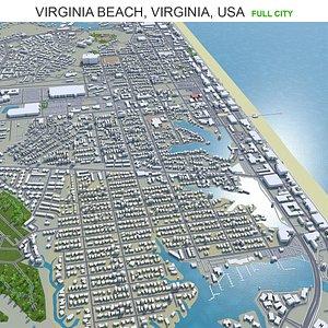 Virginia Beach Virginia USA model
