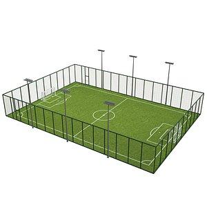 Soccer Football Field 3D