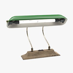 style banker lamp model