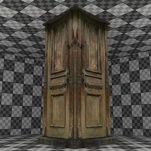 Wooden Column 01 3D model