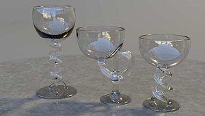 3D model designed glasses