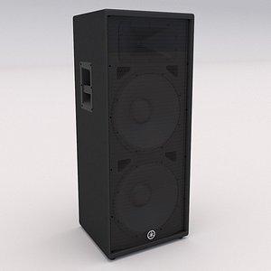 3D Yamaha Speaker C215V model