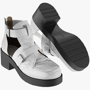 realistic women s sandals model