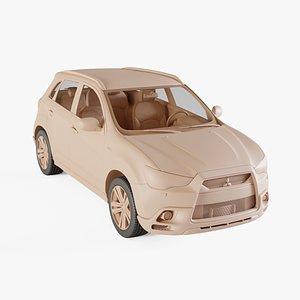 2011 Mitsubishi ASX 3D model