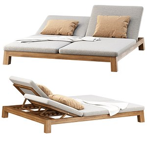 gijs sun lounger 3D model