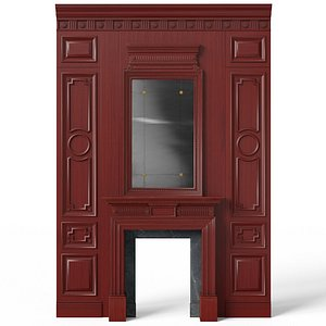 Fireplace 01 02 3D model