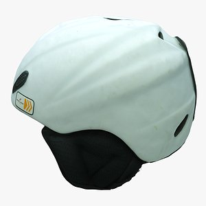 3D ski helmet