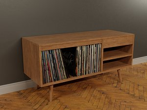 Vinyl Storage No-11 3D model