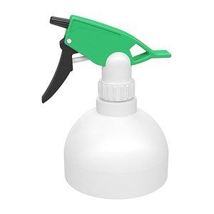 spray bottle plastic 3D model