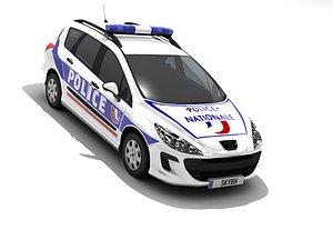 3D model 308 sw