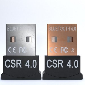 3D model bluetooth adapter