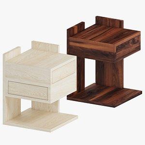 3D Mena H Coffee Table Set 01 by GG Designart