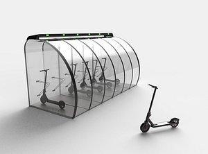 Park bikes 3D