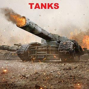 3D Veh: Tanks