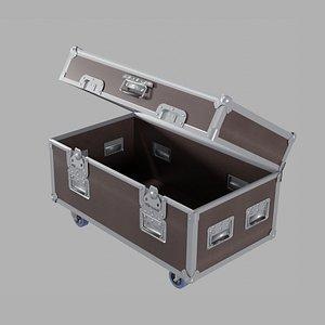 3D box decoration stage model