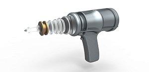 pistol laser 3D model