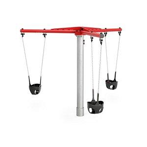 3D toddler carousel kompan