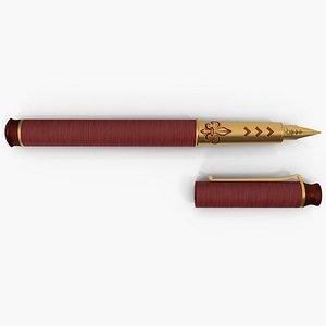 pen ink 3D model