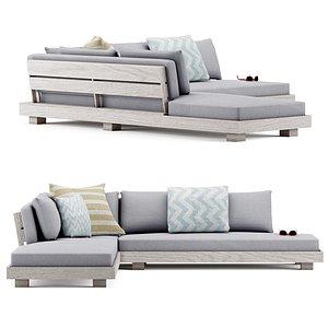 3D lubek sofa