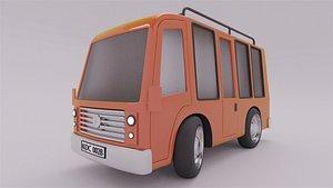 Stylized Bus model