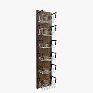 3D Basket Storage model
