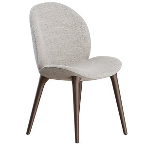 3D Lodge Chair by Vipp model