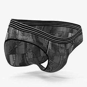 Boy Underwear 3D model
