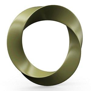 3D model Metal torus v2