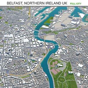 3D Belfast Northern Ireland UK