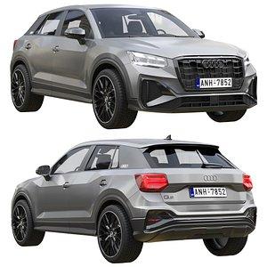 3D Audi Q2 2021
