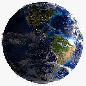 earth 80 k 3D model