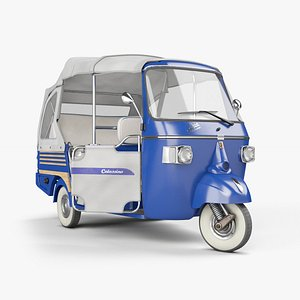APE Piaggio Calessino 3D model