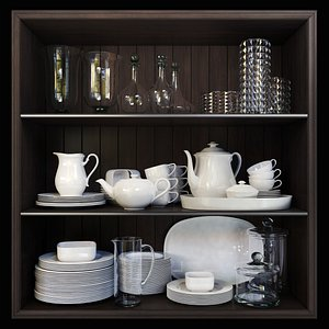 3D Tableware set by Villeroy and Boch