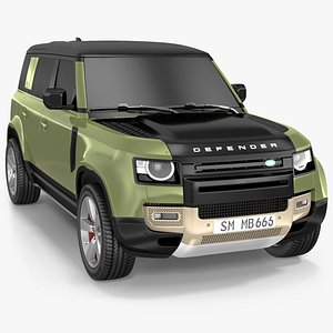 Land Rover Defender Country Pack Exterior Only 3D model