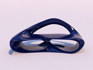 organic bench 3D model
