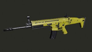 3D FN Scar L PBR